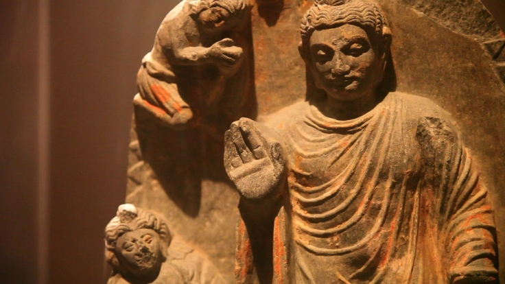 Huffman+Buddhastatue