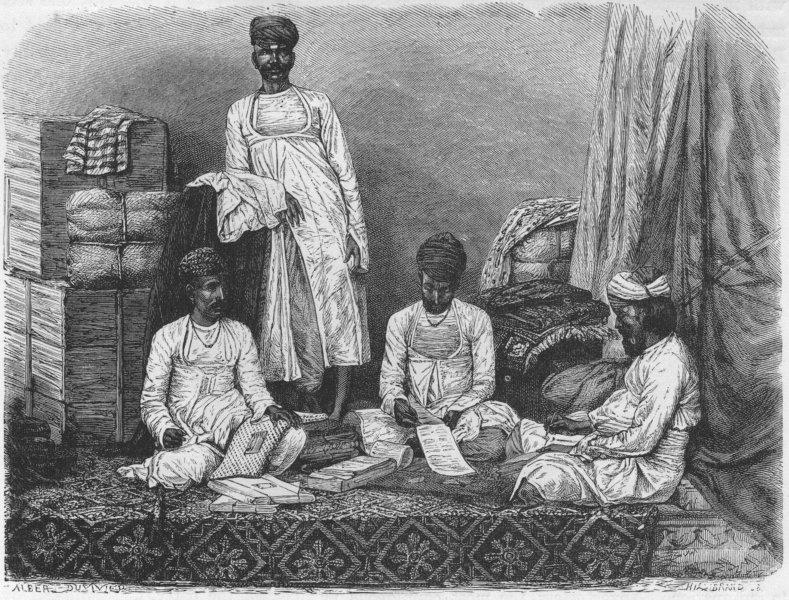india-marwari-merchants-kolkata-antique-print-1878