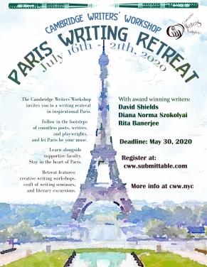 CWW Paris Retreat 2020 Poster